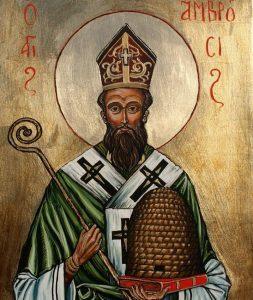 Uroczystość św. Ambrożego patrona Pszczelarzy.